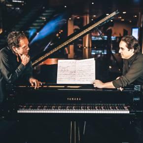 A dos pianos: Juan José Chuquisengo y José Luis Madueño en recital por niños deCusco