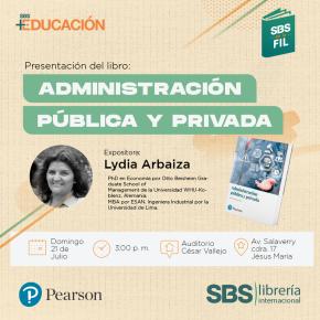 FIL Lima: Administración Pública y Privada por LydiaArbaiza