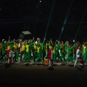 Delegaciones de atletas desfilaron al ritmo de temas íconos pop peruanos de diversos géneros en los Juegos Panamericanos Lima2019