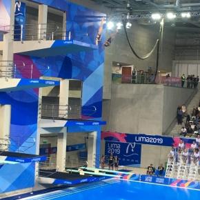 Las clavadistas mexicanas Alejandra Orozco y Gabriela Agundez conquistaron medalla de plata por sincronizado 10 metros en Lima2019