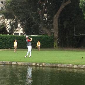 Golfista peruano Luis Fernando Barco mostró su juego de proyección internacional en Lima2019