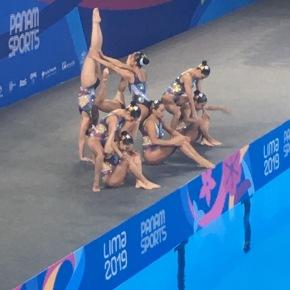 México ganó medalla de plata en natación artística en los Panamericanos Lima2019