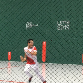 Frontón 30 m.masculino Lima 2019: El peruano Rodrigo Carrasco dejó todo en lacancha