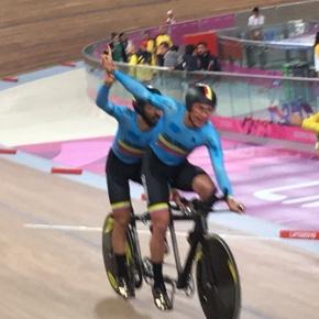 Serna – Pérez obtienen oro en Paraciclismo de pista – Persecución en Parapanamericanos Lima2019