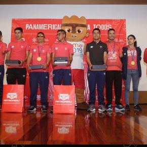 Petroperú rindió homenaje a medallistas y destacados deportistas Parapanamericanos peruanos
