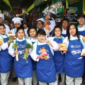 Con alimentos recuperados Municipalidad de Lima ofreció gratis deliciosospotajes