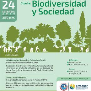 Biodiversidad y Sociedad: CharlaINTE-PUCP