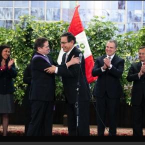 Condecoran a Carlos Neuhaus por organizar los mejores Juegos Panamericanos y Parapanamericanos en lahistoria