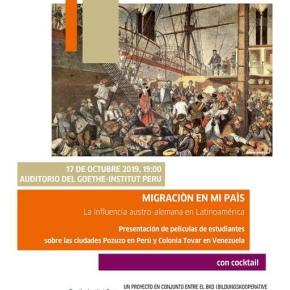 La migración germano – austriaca en Perú y Venezuela: noches de cine en el Goethe-InstitutPerú