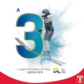 Seis peruanos competirán en los Juegos Mundiales de playa Doha2019