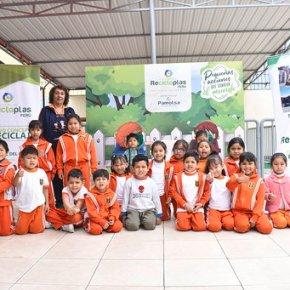 Recicloplas fomenta la cultura del reciclaje y cuidado del planeta en losniños