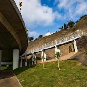 Municipalidad de Lima habilita acceso peatonal próximo al viaductoArmendáriz