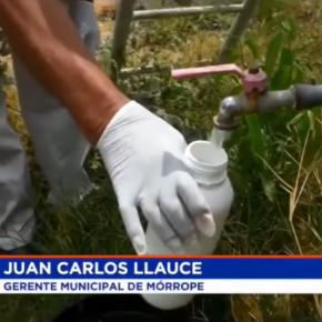 Agua contaminada con arsénico y plomo en Mórrope-Lambayeque Perú