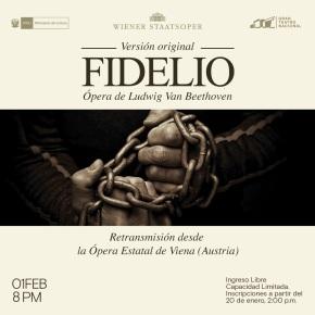 Única ópera de Beethoven ''Fidelio'' desde Austria la versión original en el GTN. Inscripcióngratuita.
