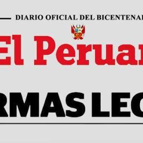 CCL Perú: Diez de 25 decretos de urgencia tendrían impacto favorable en laeconomía