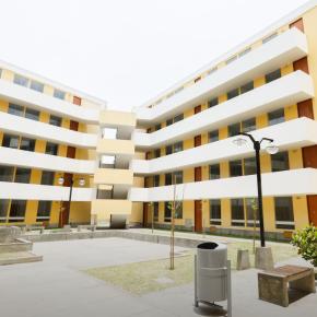 Conjunto habitacional de Lima Los Patios de Felipe Pinglo es la propuesta de alojamiento temporal para damnificados deVES