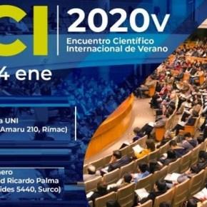Encuentro Científico Internacional 2020 de verano INGRESO LIBRE como hace 26años
