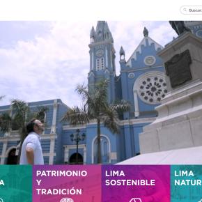 """Nuevo portal web """"Descubre Lima"""": actividades turísticas y culturales, bolsa laboral,servicios en línea,etc."""