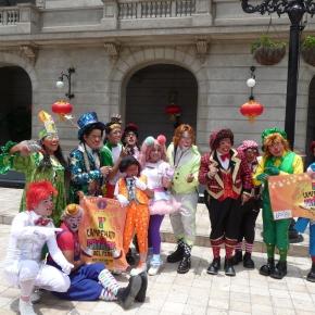 Quinto Campeonato de Payasos del Perú con invitadosinternacionales