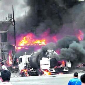 Recomendaciones de salud tras incendio en Villa El Salvador y acción frente a una fuga degas