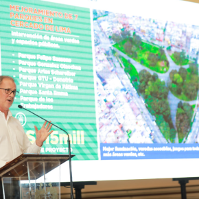 Alcalde de Lima anunció inicio de obras 2020 por un monto mayor a mil millones desoles