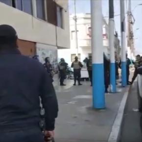 Cuarenta policías para allanar casa de periodista peruana porque su cámara de vigilancia habría registrado robo de una denuncia que nuncaexistió