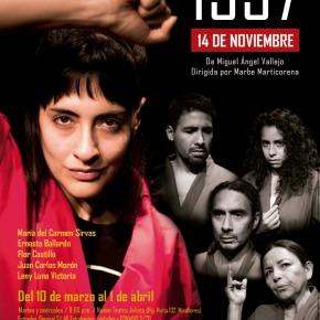 En el Mes de la Mujer, se estrena 1997, 14 de noviembre, obra sobre violenciasexual