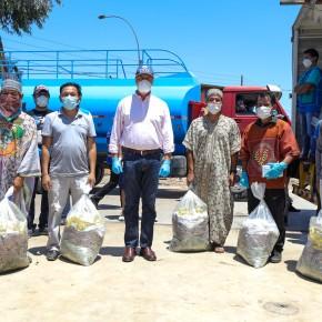 Alcalde de Lima entregó víveres y agua potable a familias de la comunidad Shipibo-Konibo deCantagallo