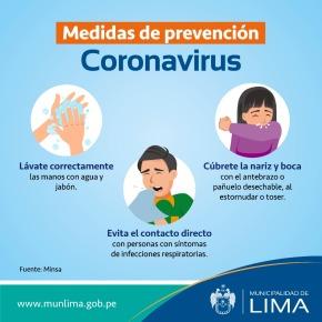 """Alcalde de Lima sobre primer caso de coronavirus en Perú: """"Primera recomendación es que hay mucha prudencia"""""""