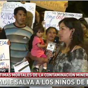 ¿Existe servicio de salud pública eficiente para los niños contaminados por plomo dePasco-Perú?