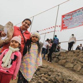 """Campaña en Lima """"Juntos Nos Hacemos Cargo"""": Donaciones a poblaciones vulnerables afectadas porCOVID-19"""