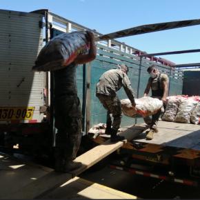 Comerciantes mayoristas entregan donaciones al Colegio Médico del Perú, PNP y ComedoresPopulares