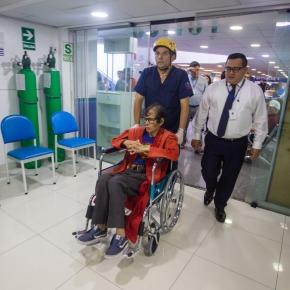 Sisol Salud del Municipio de Lima brinda asistencia médica a Supermanperuano
