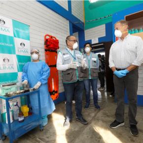Alcalde de Lima inauguró el albergue temporal Casa de laMujer