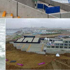 Centro de Alto Rendimiento del Surf de Puntas Rocas Panamericanos Lima 2019 alojará al personal del Instituto Nacional de Salud en lucha contra el COVID19