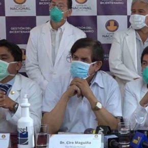 Colegio Médico del Perú sugiere que Perú extienda el Aislamiento Social Obligatorio por lo menos todoabril
