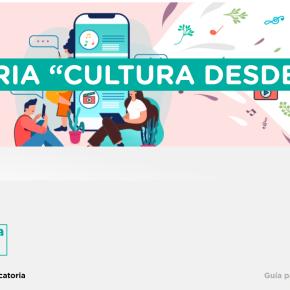 Cultura desde casa: Convocatoria a creadores y artistas para formar parte de programavirtual