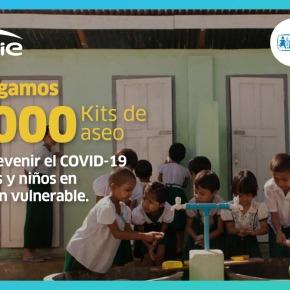 ENGIE Energía Perú entregó 5 mil kits de aseo a niños en situación vulnerable en Lima y Callao de Aldeas InfantilesSOS