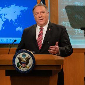 El secretario de Estado de EE.UU. Michael R.Pompeo enfatizó el papel de medios independientes para facilitar el intercambio abierto de información e ideas tan vitales para sociedades democráticas libres, prósperas yseguras