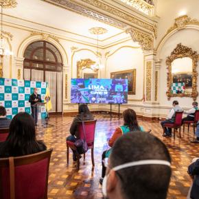Municipalidad de Lima presentó balance de acciones en el marco de Estado de Emergencia Sanitario por COVID19