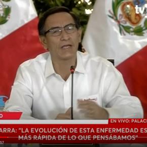 Perú extiende por cuarta vez cuarentena Coronavirus COVID 19 por 14 días : Continúa restricción de circulación de personas, cierre de fronteras y anuncia másmedidas