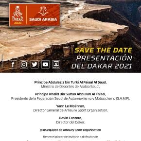 Dakar 2021: Primera presentación en formatodigital