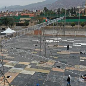 Hospitales temporales y Camas UCI Cayetano Heredia  por COVID 19 en Lima: Obras de instalación a cargo del Legado Juegos Panamericanos y Parapanamericanos sonsupervisadas