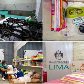 Municipalidad de Lima inauguró el segundo albergue temporal Casa de laMujer