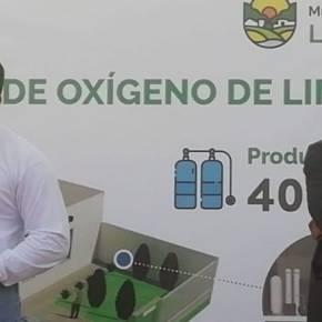 Primera planta municipal de oxígeno medicinal de Lima en La Molina debe operar en lapso de 42días