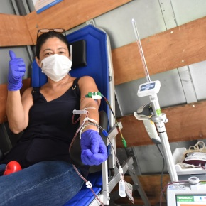 """Donación de sangre a domicilio para niños peruanos gracias al """"Dona móvil""""del Instituto Nacional de Salud del Niño SanBorja"""