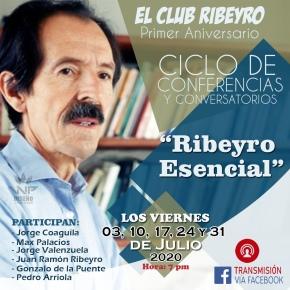 El Club Ribeyro celebra su primer aniversario con ciclo deconferencias