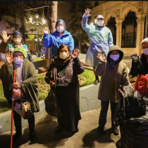 En Lima llevan a personas en situación de calle al Hogar dePaso