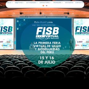 Feria Integral de Salud y Bioseguridad: Ingreso Virtual gratuito 15 y 16 de julio Conferencias, Stands yNetworking