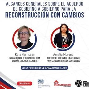 Gobierno del Reino Unido informó que las empresas Mace, Arup y Gleeds participarán en la asistencia técnica de la Reconstrucción del Norte de Perú,afectada por Fenómeno El Niño en el2017